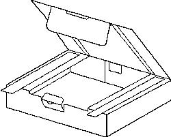 Selbstklebender Maxibrief-Karton